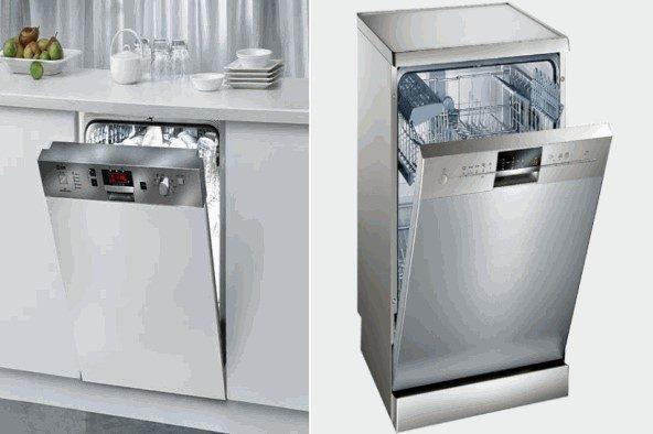 Mua máy rửa bát âm tủ hay dương tủ?