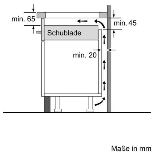 Bản vẽ lắp đặt Bếp từ Bosch Serie 8 PXY875DC1E