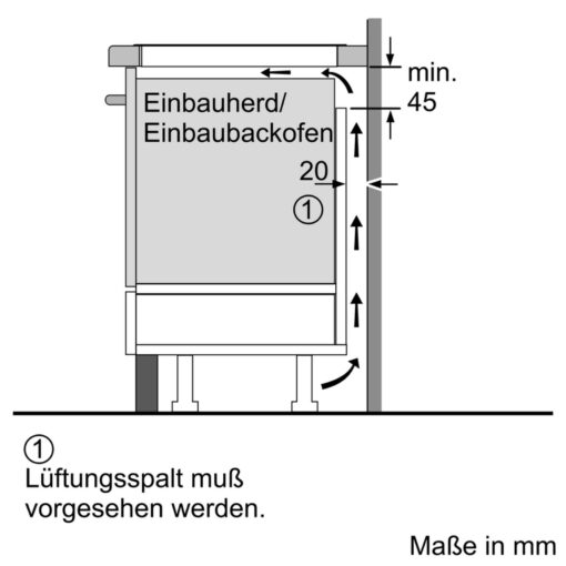 Bane vẽ lắp đặt Bếp từ Bosch PXX675DC1E serie 8