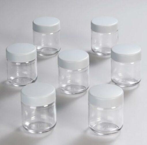 Ly đựng sữa chua làm bằng chất liệu thủy tinh cao cấp, an toàn tuyệt đối