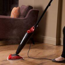 may lau nha hoi nuoc vileda steam mop 164480