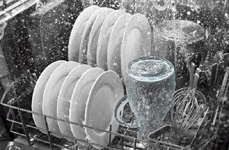 Nguyên lý hoạt động của máy rửa bát mạnh và sạch