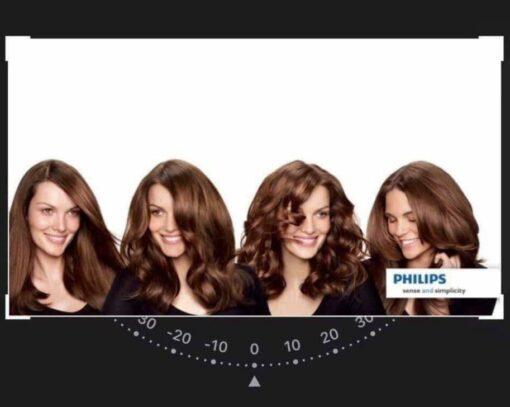 Philips HP8653/00 giúp tạo ra nhiều kiểu tóc uốn vô cùng đẹp