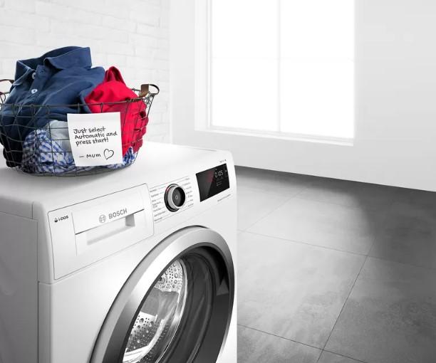Máy giặt Bosch WAV28E41 hoạt động em ái