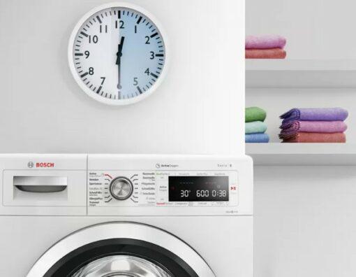Máy giặt Bosch WAV28E41 tiết kiệm thời gian