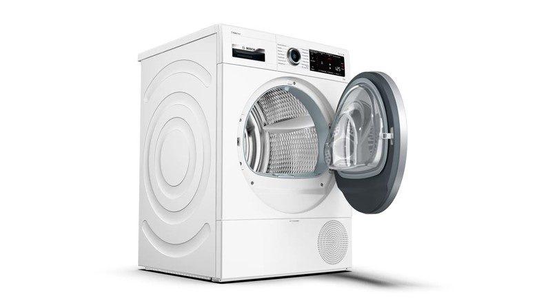 Máy sấy quần áo Bosch có thiết kế hiện đại, sang trọng