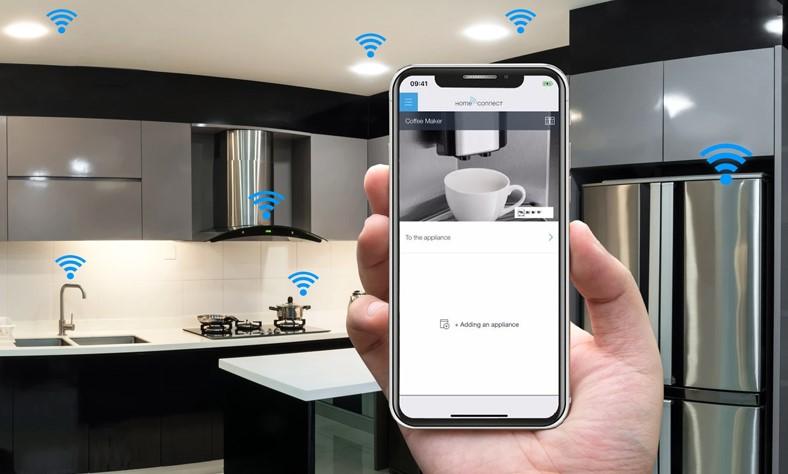 Home Connect trên thiết bị bếp Bosch