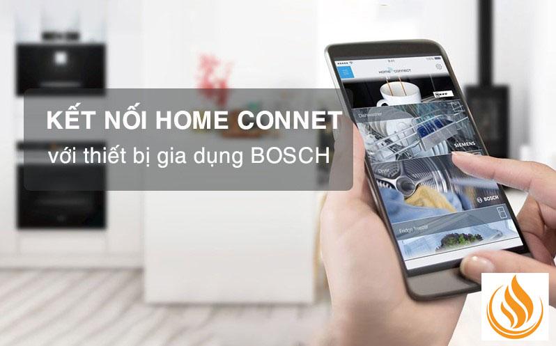 Kết nối Home Connect trên thiết bị bếp Bosch