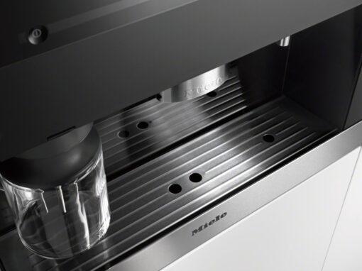 khay dựng cốc của Máy pha cà phê Miele CVA6805