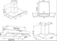 [Tìm hiểu] tiêu chuẩn kích thước máy hút mùi bếp hiện nay