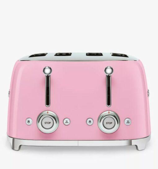 Máy nướng bánh mì SMEG TSF03 màu hồng