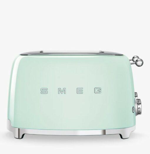 Máy nướng bánh mì SMEG TSF03 màu xanh lá cây