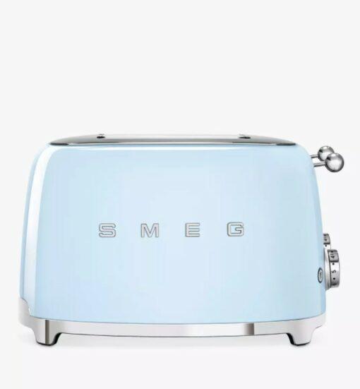 Máy nướng bánh mì SMEG TSF03 zanh nước biển