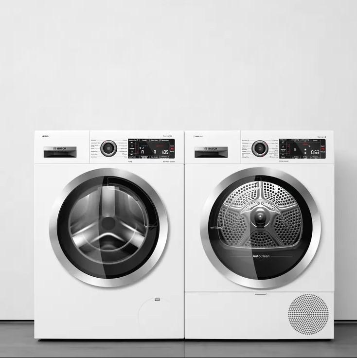 Máy sấy quần áo Bosch WTW87541 dễ dàng sử dụng