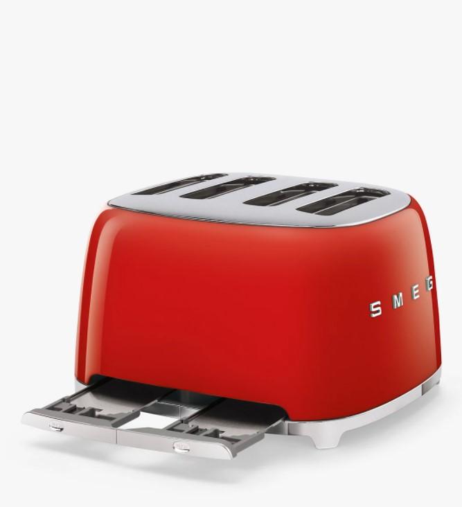 Mặt bên của Máy nướng bánh mì SMEG
