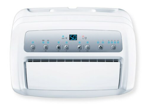 Bảng điều khiển của máy hút ẩm Beurer LE60