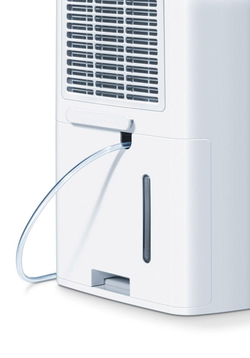 Mặt sau của máy hút ẩm Beurer LE60