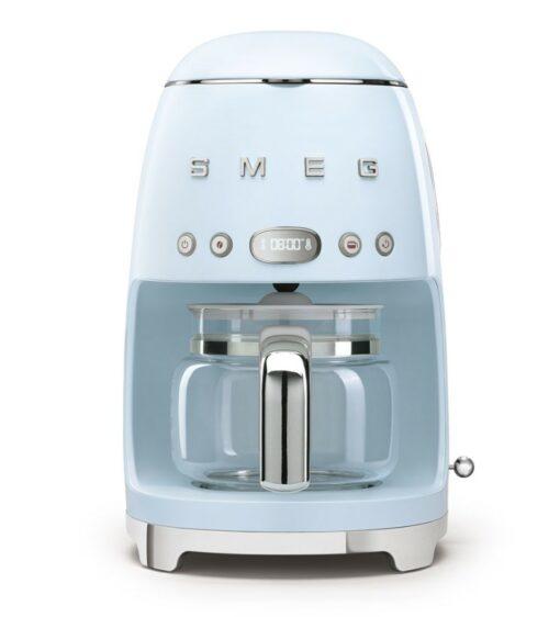 máy pha cà phê nhỏ giọt SMEG DCF02PBEU màu xanh