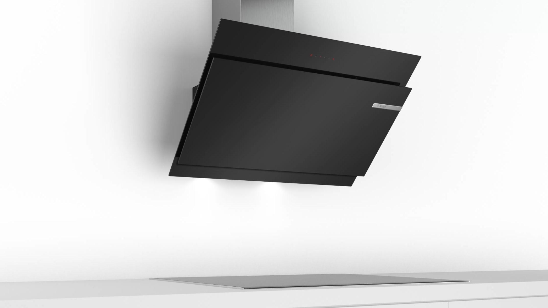 Tổng thể Máy hút mùi nghiêng Bosch DWK97JM60 – 90cm