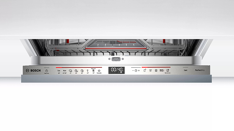 Bảng điều khiển Máy rửa bát Bosch SMV6ZCX49E serie 6