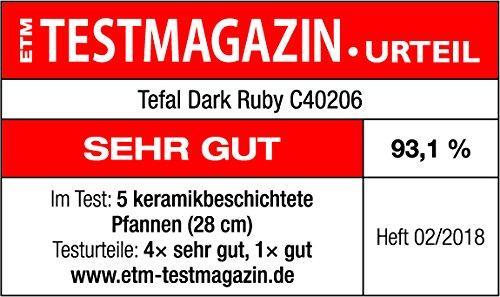 Chảo Tefal Dark Ruby 28 cm
