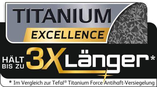 Chảo Tefal Talent Pro 28cm Sâu Lòng Công Nghệ Titanium
