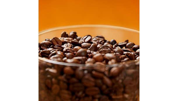 Giữ hạt cafe tươi lâu hơn và giữ được hương vị nhờ nắp đậy bảo vệ