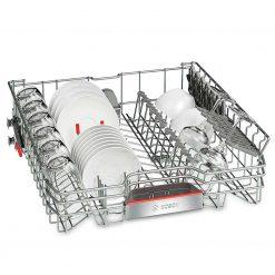 Khay rửa bát kèm ly của Máy rửa bát Bosch serie 6 sms68tw06e độc lập