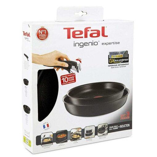 Set Chảo Tefal L65092 Ingenio Expertise 24 & 28 cm cao cấp